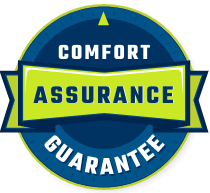 Comfort assurance guarantee badge